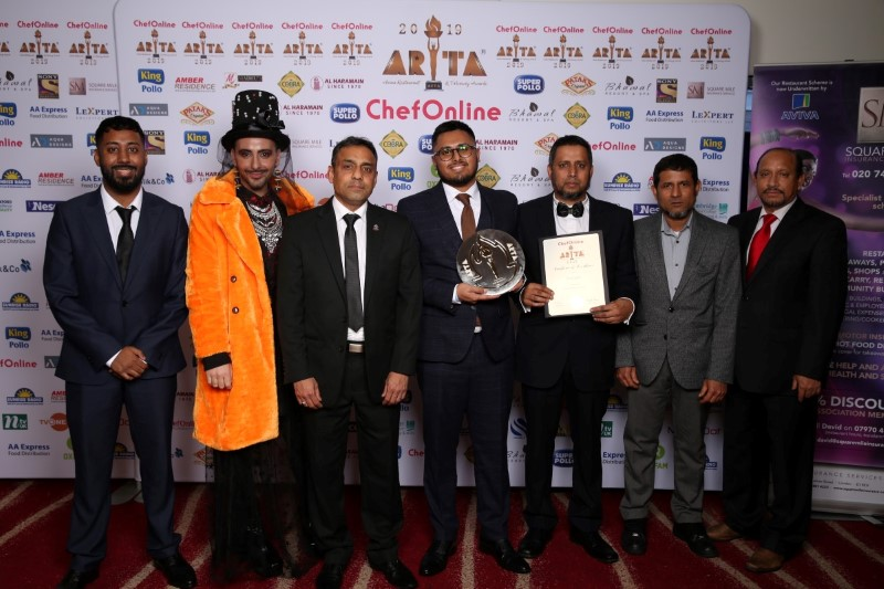 Grand Finale of the Asian Restaurant and Takeaway Awards 2019