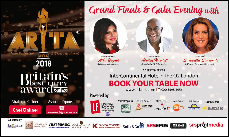 Arta Grand Finale & Gala Evening