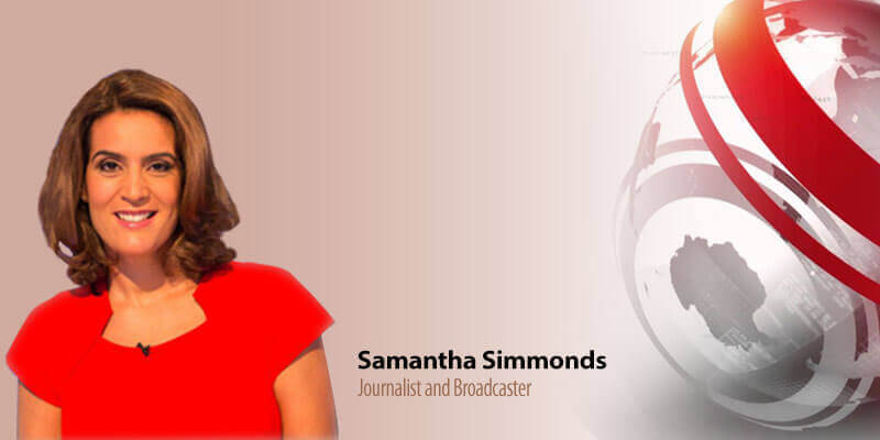 Britain's Best Curry Awards Samantha Simmonds