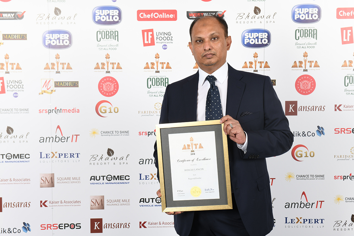 Cook Off Asian Restaurant and Takeaway Awards 2018